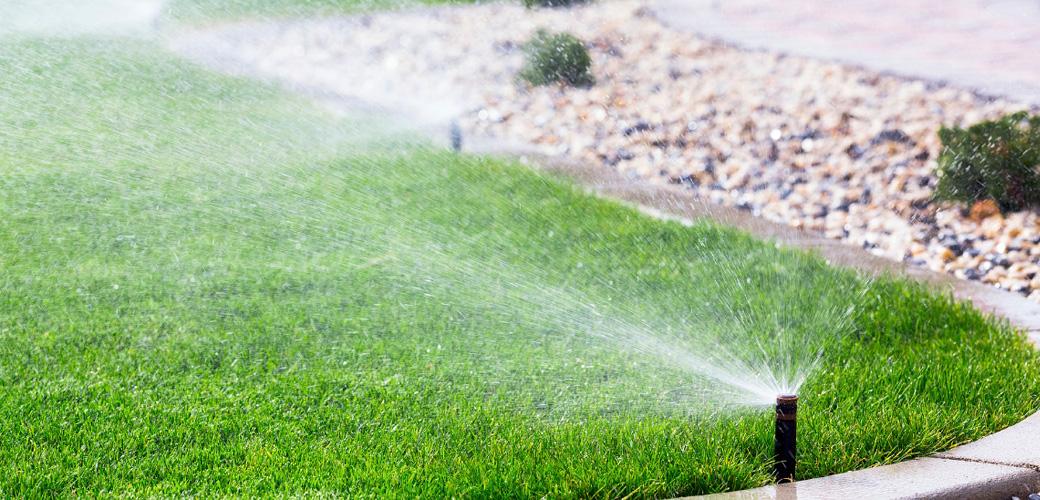 DHI Sprinkler System